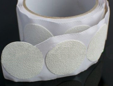Anti-Slip tape tub stickers - white discs