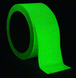 Heskins Glow-in-the Dark Self-Adhesive Egress Marking Tape