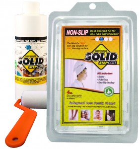 SolidStepCote anti-slip floor coating kit