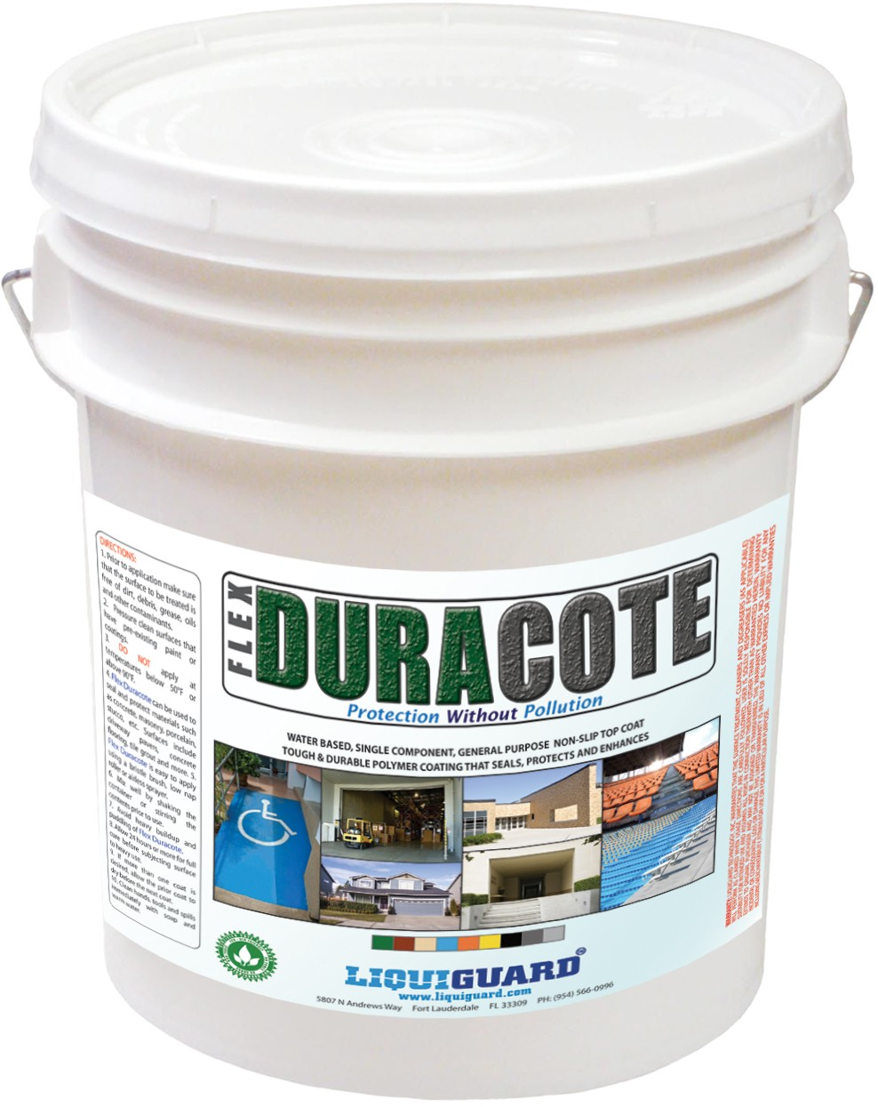 FlexDuraCote anti-slip floor and garage paint